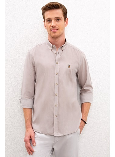 U.S. Polo Assn. Gömlek Gri